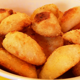 Crispy Coated Roast Potatoes.