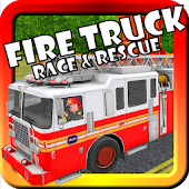 Fire Truck Race & Rescue Kids
