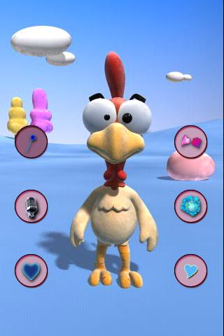 Talking Chick - screenshot