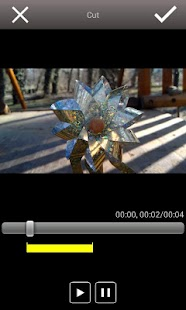 mVideoCut - video editor - screenshot thumbnail