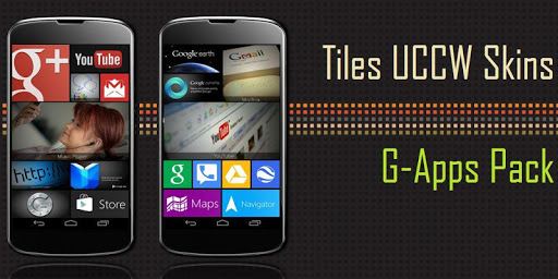 Tiles UCCW Theme GApps Pack
