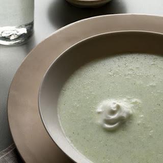 Broccoli Soup with Yogurt.
