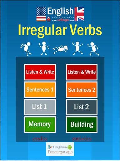 Vedoque Irregular Verbs