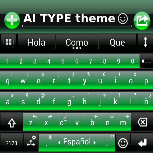 THEME FOR AI TYPE BLACK GREEN file APK Free for PC, smart TV Download