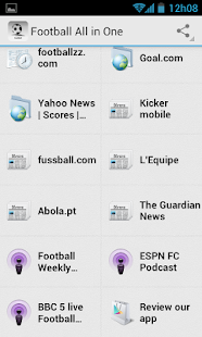 All-in-One Football News - screenshot thumbnail