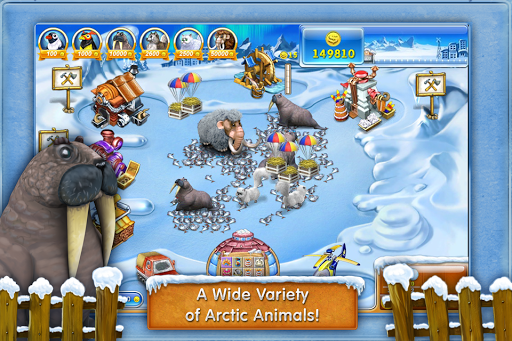 Farm Frenzy 3: Ice Domain Free  screenshots 3