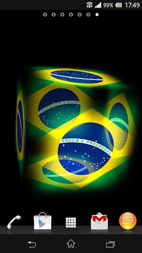3D Brazil Live Wallpaper