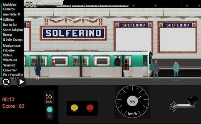 android Paris Métro Simulator Screenshot 1