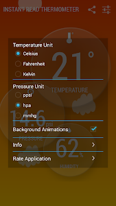 Instant Thermometer screenshot 4