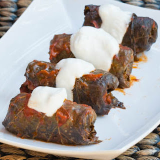 Stuffed Grape Leaves (Sarmalute in foi de vita)
