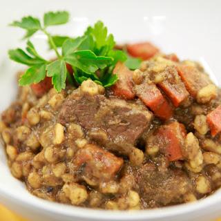 Chef Vikki's Beef Stew With Barley