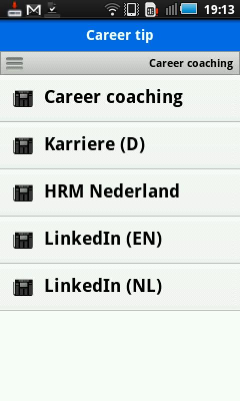 Career & Coaching News- screenshot