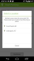 Screenshot of Parkmobile