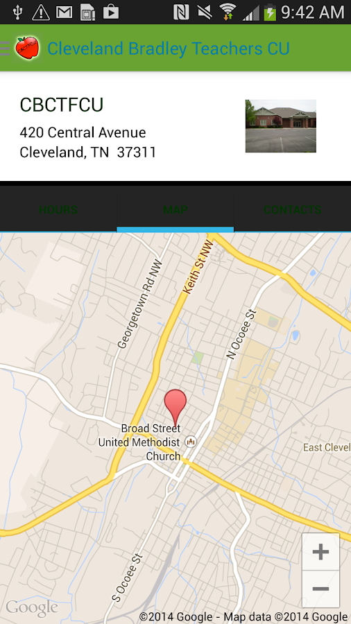 Cleveland Bradley Teachers CU- screenshot