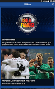 Mediaset Connect - screenshot thumbnail