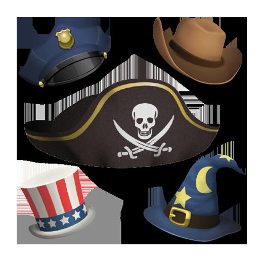 Aviary 貼紙:帽子 程式庫與試用程式 App LOGO-APP試玩