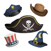 Aviary Stickers: Hats