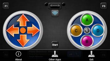 Screenshot of Wifi PC Joystick