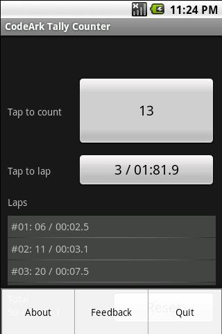 CodeArk Tally Counter- screenshot