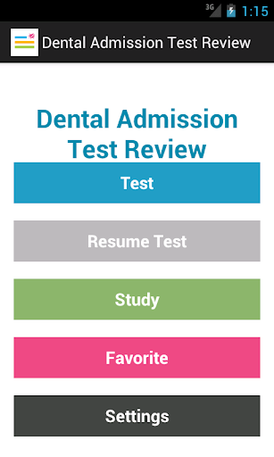 Dental Admission Test Prep