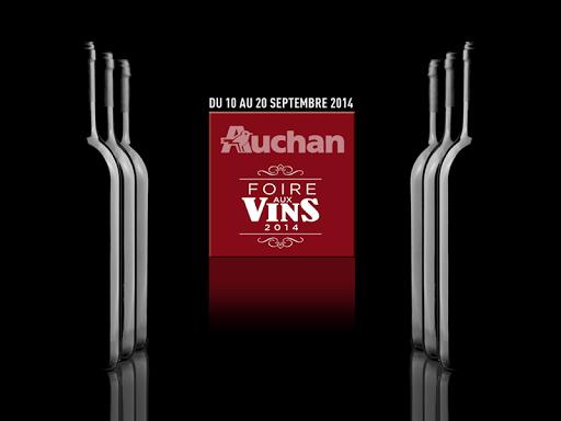 Vins Auchan Région Est