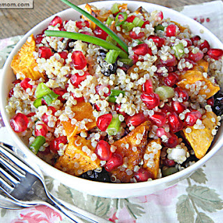 Pomegranate Sweet Potato Quinoa Recipe