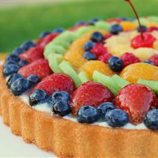 Fruit Galore Sponge Cake.
