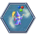 Jewels Hexagon Match 3 icon