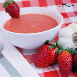Strawberry Gazpacho: A Different Gazpacho Recipe.