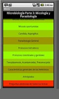 Screenshot of Micologia y Parasitologia