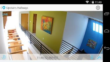 Screenshot of Dropcam