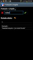 Screenshot of Français Lingala