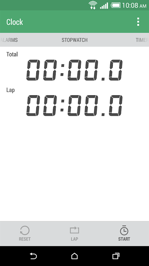 HTC Clock - screenshot