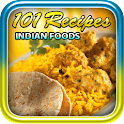 101 Recipes Indian Foods logo