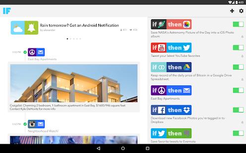IF by IFTTT - screenshot thumbnail