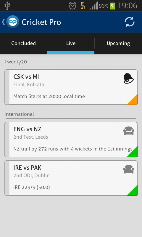 Cricket Pro - Live Scores - screenshot