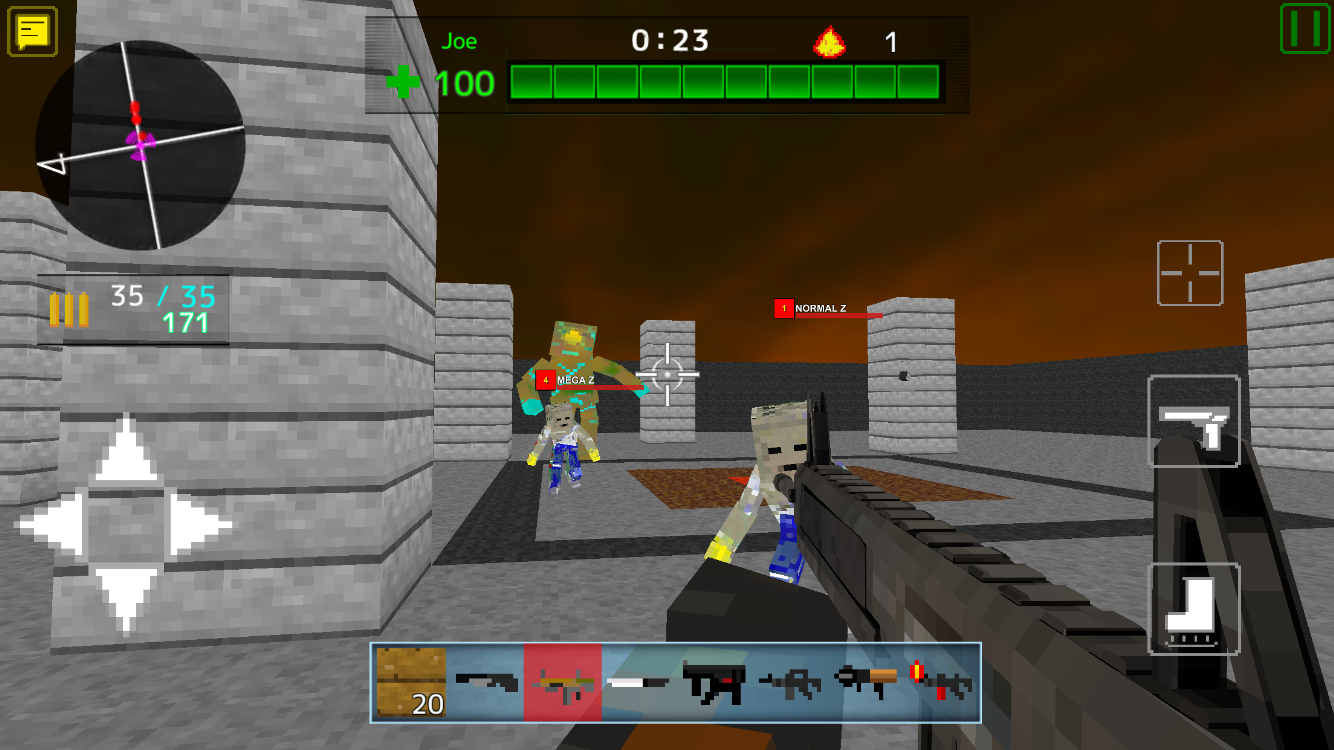 Death Blocks 3- screenshot