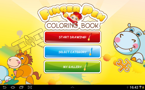 Coloring book - FingerPen - screenshot thumbnail
