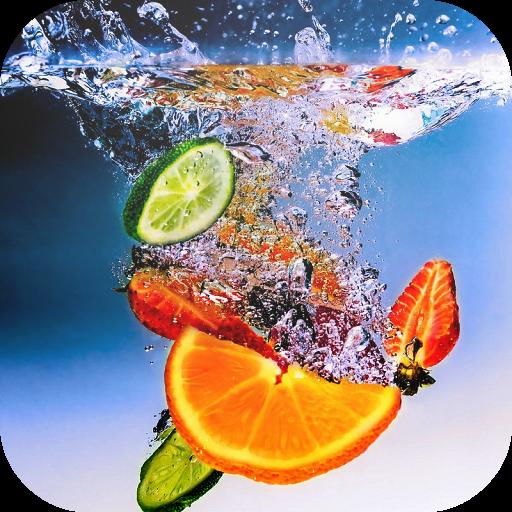 Juicy Fruit Live Wallpaper