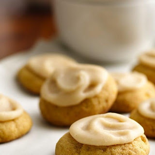 Soft Ginger-Pumpkin Cookies with Browned Butter Frosting Recipe