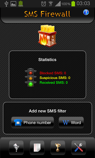 SMS Firewall Free - SMS filter
