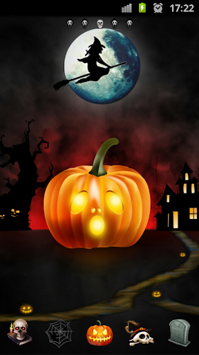 Halloween Theme Go Launcher