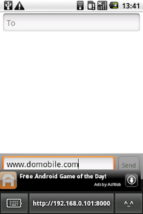 DoMobile ShareKeyboard free - screenshot thumbnail
