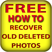 Recover old deleted photos