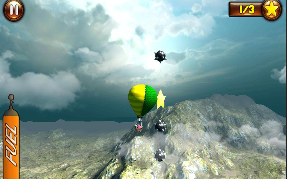 Hot air balloon flight game android apps on google play for Air balloon games