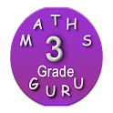 Third Grade Kids Math Guru icon