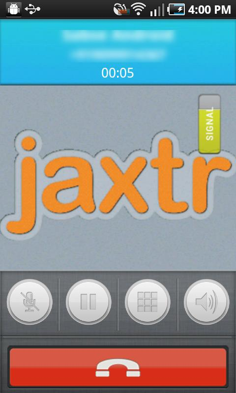 Jaxtr Voice: Cheap Int'l Calls- screenshot