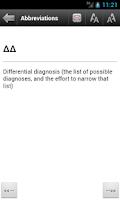 Screenshot of Medical Terms  Prefix & Suffix