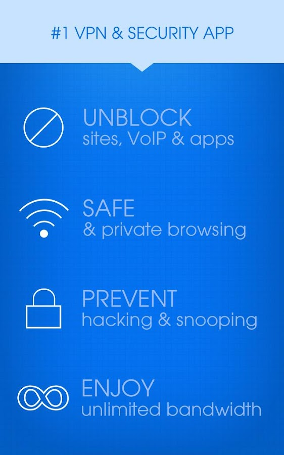 Hotspot Shield VPN Proxy, WiFi - screenshot