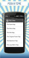 Screenshot of Power Nap Alarm
